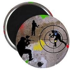 Paintball King Duvet Magnet