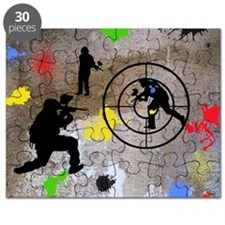 Paintball King Duvet Puzzle