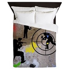 Paintball King Duvet Queen Duvet