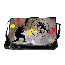 Paintball King Duvet Messenger Bag