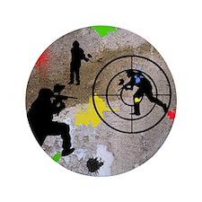 """Paintball King Duvet 3.5"""" Button"""