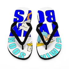 Twin boys coming Flip Flops
