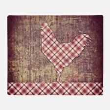 picnicrooster Throw Blanket