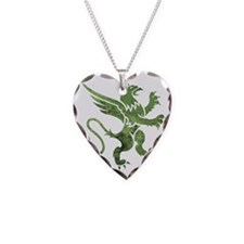Green Gryphon Necklace