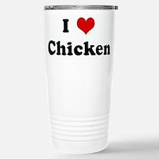 Unique Heart Travel Mug