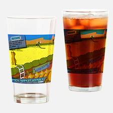 mousepad_lemmings Drinking Glass