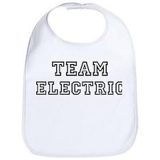 ELECTRIC is my lucky charm Bib