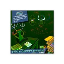 """mousepad_stags Square Sticker 3"""" x 3"""""""