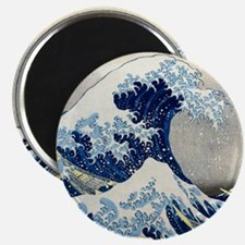 Pillow Hokusai Wave Magnet