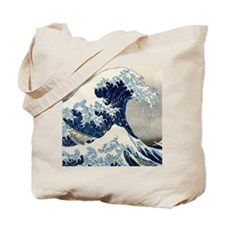 FF Hokusai Wave Tote Bag