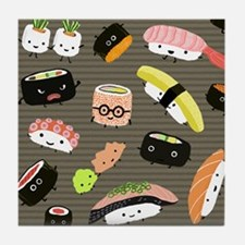sushipillow2 Tile Coaster