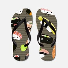 sushipillow2 Flip Flops