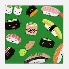 sushipillow3 Tile Coaster
