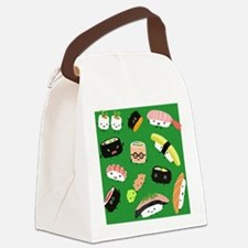 sushipillow3 Canvas Lunch Bag