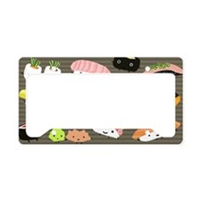 sushiclutch License Plate Holder