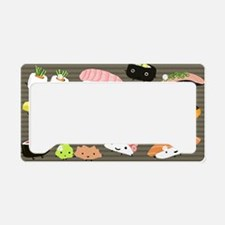 sushitoiletry License Plate Holder