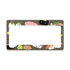sushicoinpurse License Plate Holder
