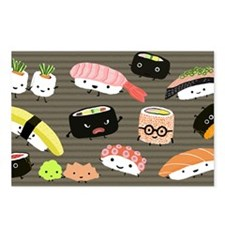 sushicoinpurse Postcards (Package of 8)