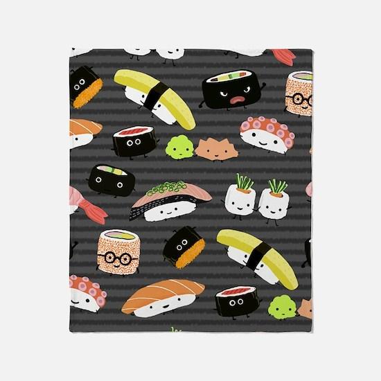 sushinook Throw Blanket