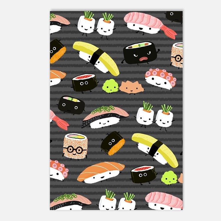 sushinook Postcards (Package of 8)