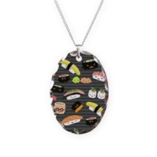 sushinook Necklace Oval Charm
