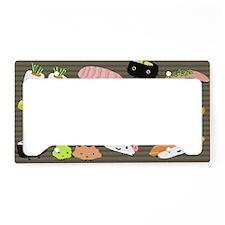 sushiminiwallet License Plate Holder