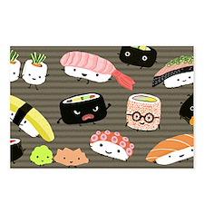 sushiminiwallet Postcards (Package of 8)