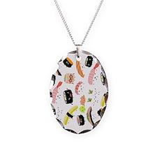 sushiipad2 Necklace Oval Charm