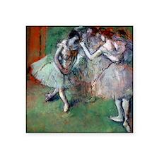 "Pillow Degas Group Square Sticker 3"" x 3"""