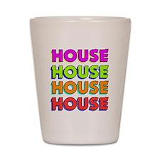 HouseBombBlack Shot Glass
