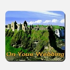IRISH-WEDDING-CARD Mousepad