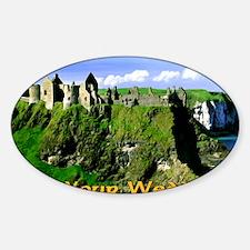 IRISH-WEDDING-CARD Decal