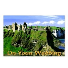 IRISH-WEDDING-CARD Postcards (Package of 8)