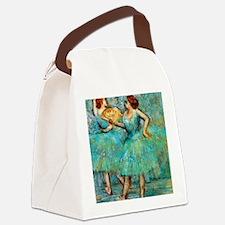 NC Degas 2Fan Canvas Lunch Bag