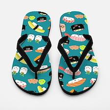 sushishowercurtain Flip Flops