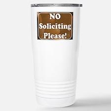 no solicit2 Travel Mug