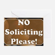 no solicit2 Greeting Card