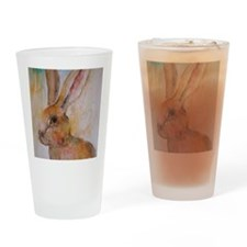 Solo Hare Drinking Glass