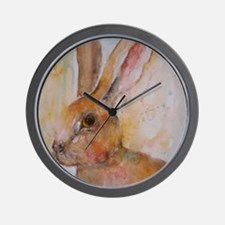 Solo Hare Wall Clock