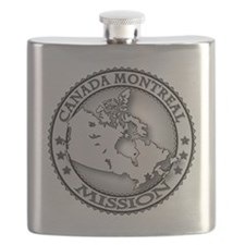 Canada Montreal LDS Mission Flask