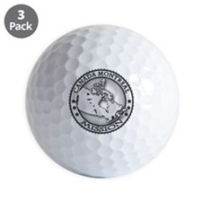Canada Montreal LDS Mission Golf Ball