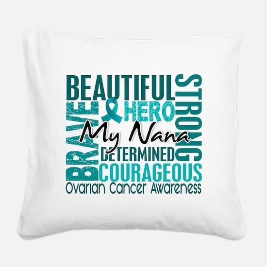 D Nana Square Canvas Pillow