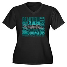 D Mother-In- Women's Plus Size Dark V-Neck T-Shirt