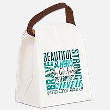 D Girlfriend Canvas Lunch Bag