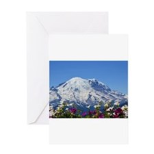Mt Rainier Greeting Cards