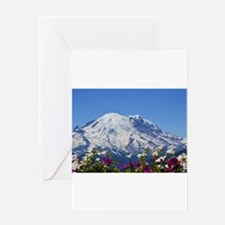 Mt Rainier Greeting Cards