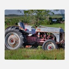 Red Belly Ford Throw Blanket