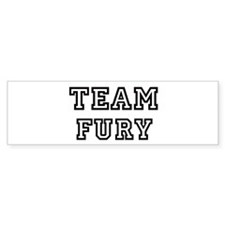 Team FURY Bumper Bumper Sticker