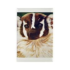 Badger1 Rectangle Magnet