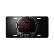 laptop Aluminum License Plate